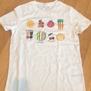 French Connection Fcuk XS Le legumes Tee